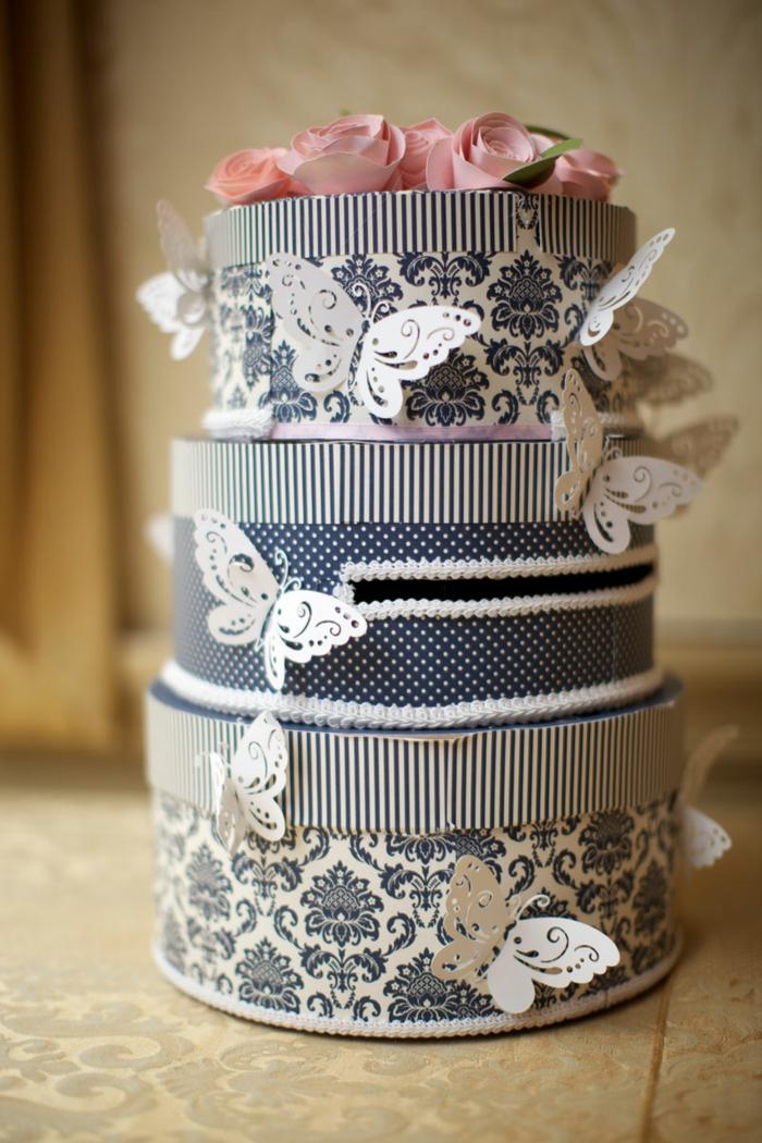 Urne de mariage 40 id es originales for Decoration urne de mariage
