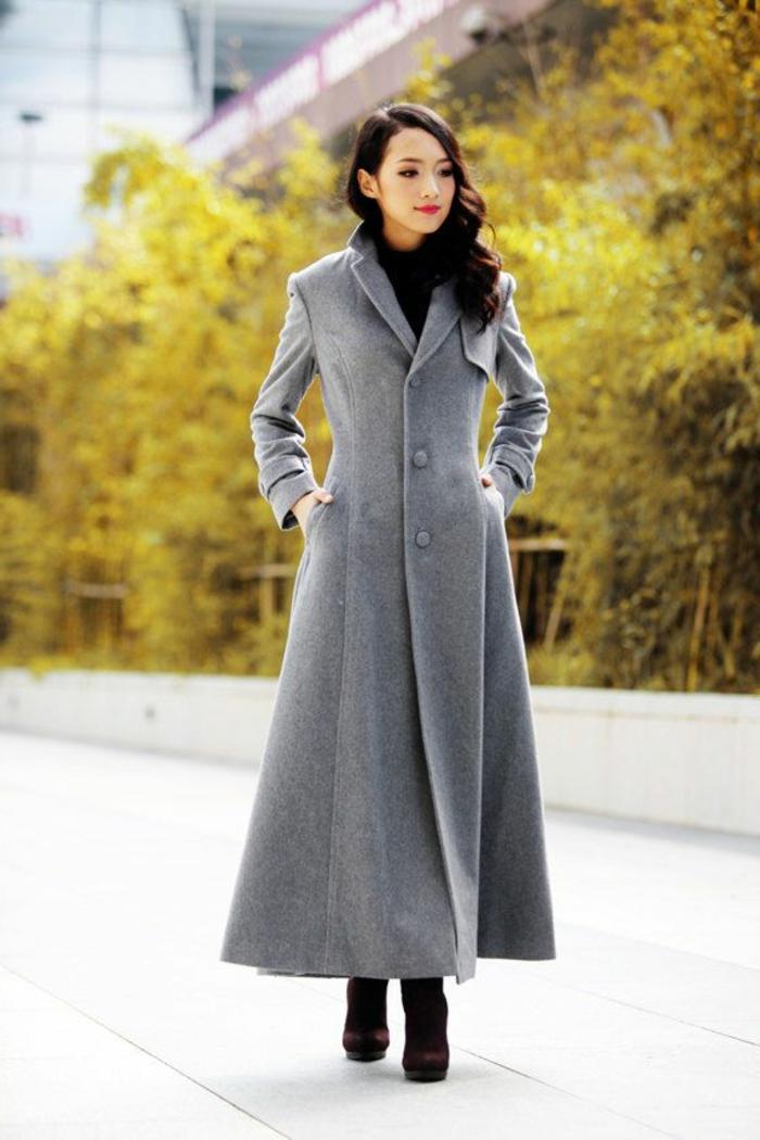veste-matelassée-femme-gris-les-tendances-de-la-mode-pour-2015-manteau-gris