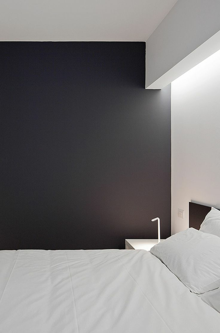 linge de lit contemporain maison design. Black Bedroom Furniture Sets. Home Design Ideas
