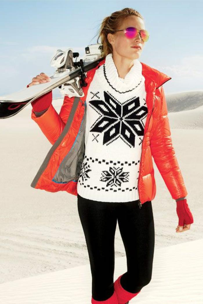 0-joli-manteau-ski-femme-pas-cher-orange-pour-etre-a-la-mode-sur-la-piste