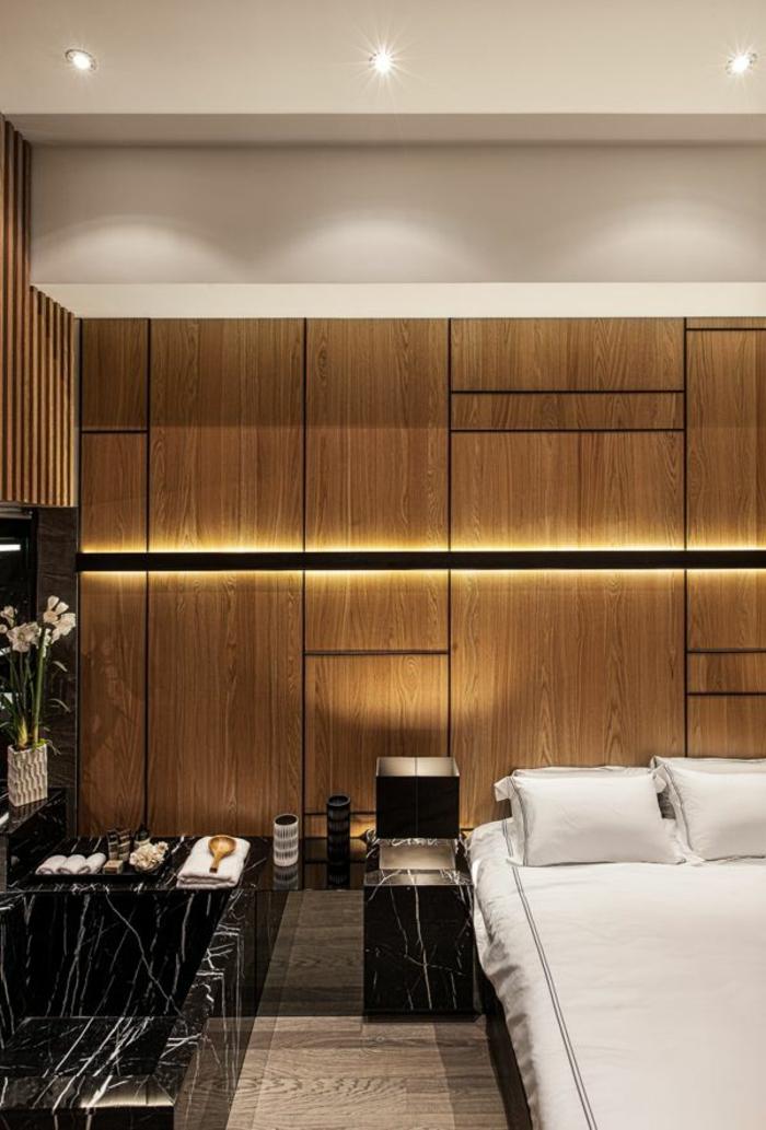 1-éclairage-indirect-dans-la-salle-a-coucher-de-style-zen-moderne-mur-en-bois-moderne-chambre-a-coucher