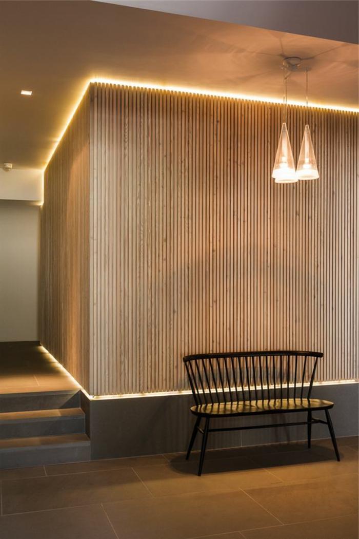 1-éclairage-indirect-salon-pour-les-murs-en-bois-decoration-murale-salon-banc-d-interieur