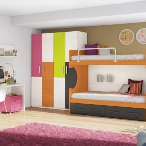 Une armoire enfant, beaucoup de variantes! La chambre d'enfant en 54 photos!