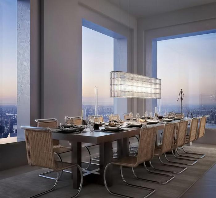 1-432-Park-Avenue-New-York-avec-fenetre-vers-le-cité-interieur-gratte-ciel-residentiel-de-luxe