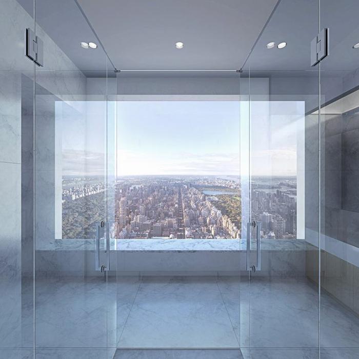 1-432-Park-Avenue-New-York-avec-fenetre-vers-le-cité-interieur-gratte-ciel-residentiel