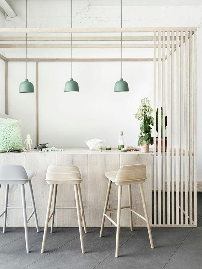 1-accorder-les-couleurs-dans-la-salle-à-manger-chaises-de-bar-en-bois-clair-chaises-de-bar