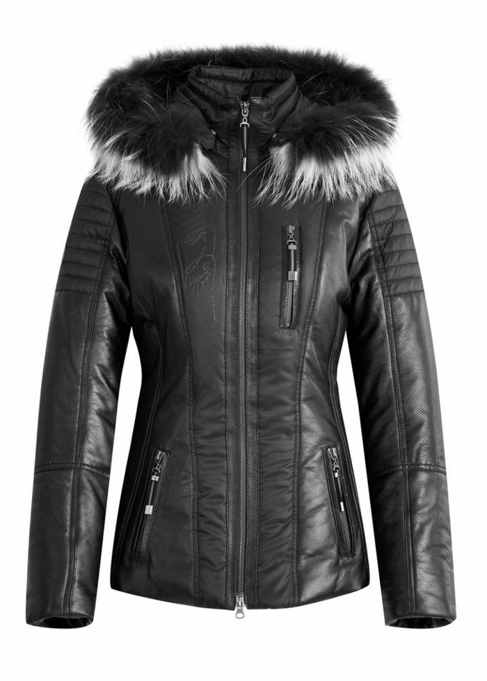 1-anorak-ski-femme-noir-pour-etre-a-la-mode-avec-vest-noir-et-cagoul-noir