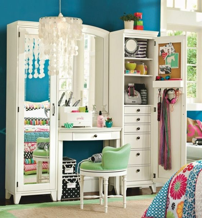 bibliotheque chambre de fille 214302 la. Black Bedroom Furniture Sets. Home Design Ideas