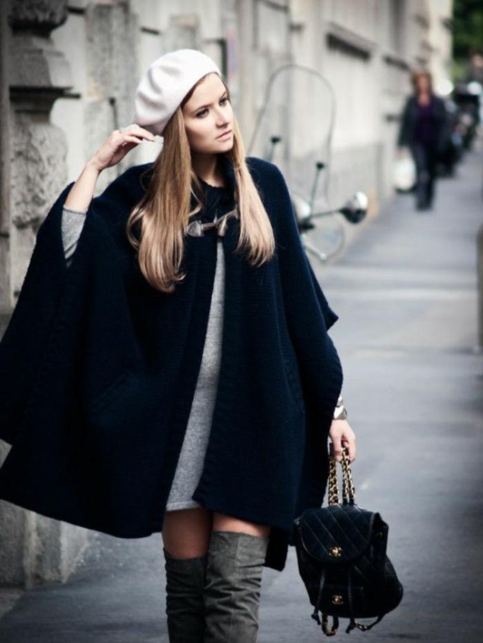 1-béret-femme-beige-pale-un-joli-manteau-noir-cheveux-blonds-jolie-fille-avec-cheveux-blonds
