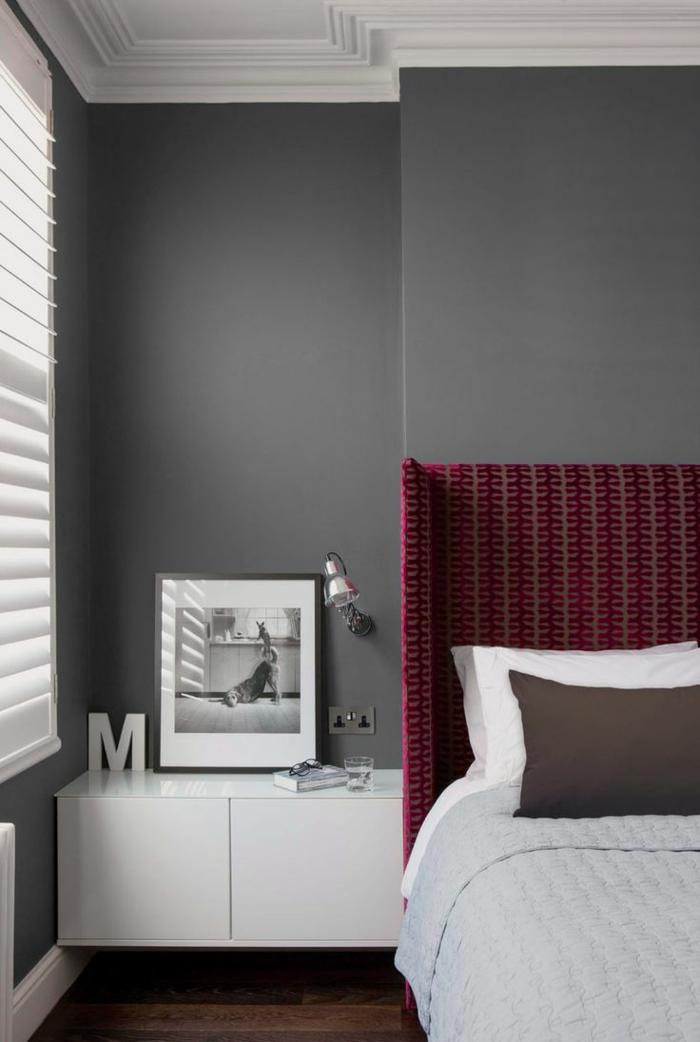 La couleur bordeaux un accent dans l int rieur contemporain for Quelle peinture choisir pour un salon