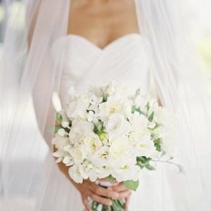 Pourquoi opter pour un bouquet de mariée rond? La réponse - en 53 photos!