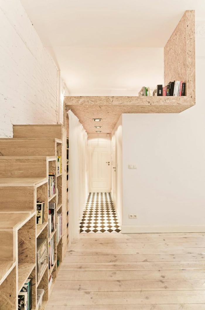 fabriquer escalier bois design de maison