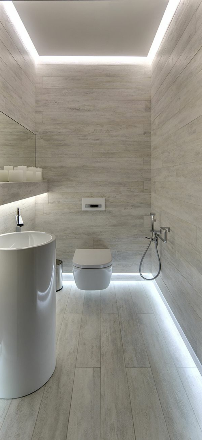 L clairage indirect 52 super id es en photos for Salle de bain eclairage