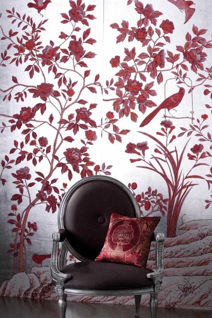 1-couleur-bordeau-pour-les-murs-comment-tapisser-les-murs-dans-le-salon