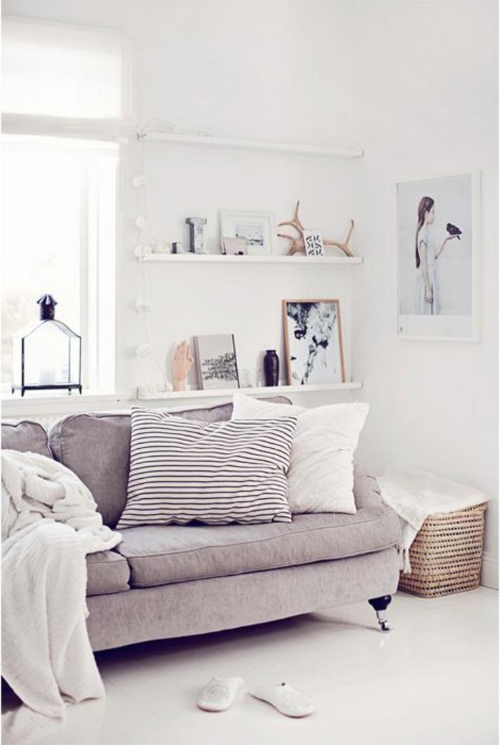 Le gros coussin pour canap en 40 photos - Canape en coussin de sol ...