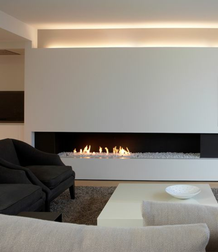 L clairage indirect 52 super id es en photos - Interieur blanc et lumineux ...