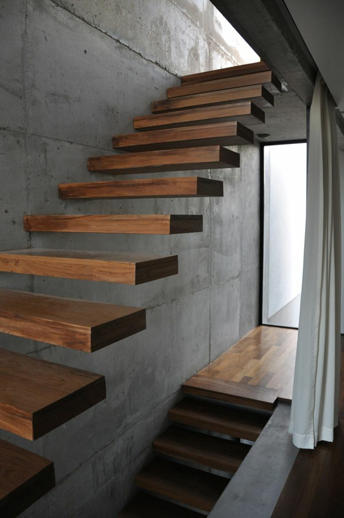 1-escalier-en-bois-foncé-pour-un-joli-couloir-moderne-avec-escalier-en-bois-foncé