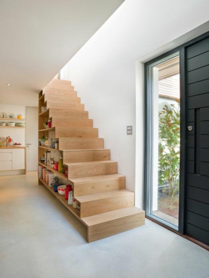 Salle De Bain Beton Cire Et Bois : Comment fabriquer un escalier en bois clair? On vous présente ce joli …