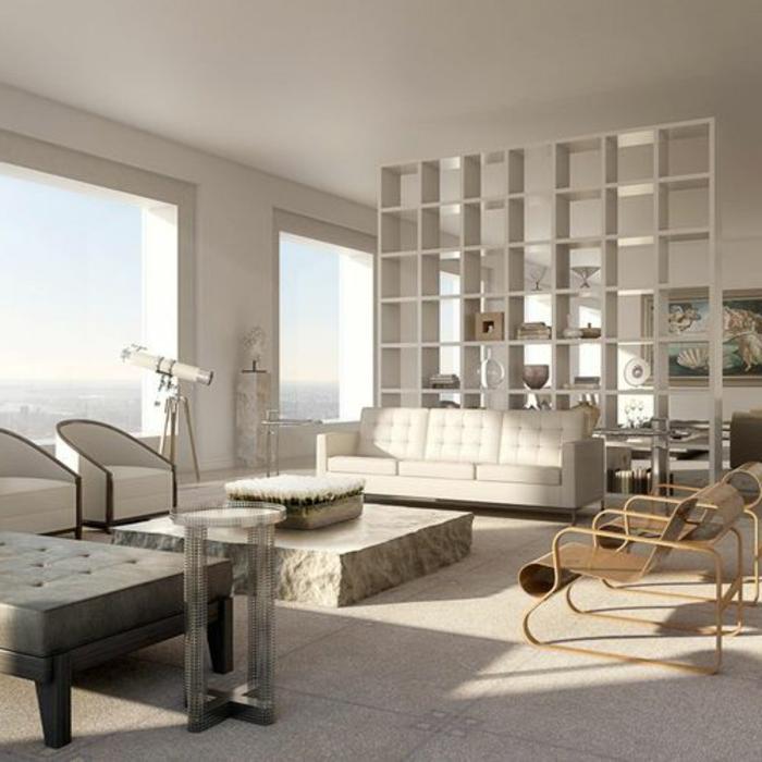 1-intérieur-432-Park-Avenue-New-York-grattes-ciel-new-york-appartement-loft-meubles-beiges