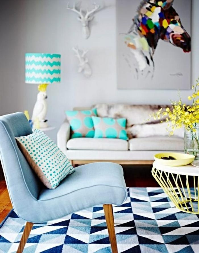 Lampe de salon moderne trendy ventilateur de plafond for Ventilateur de salon