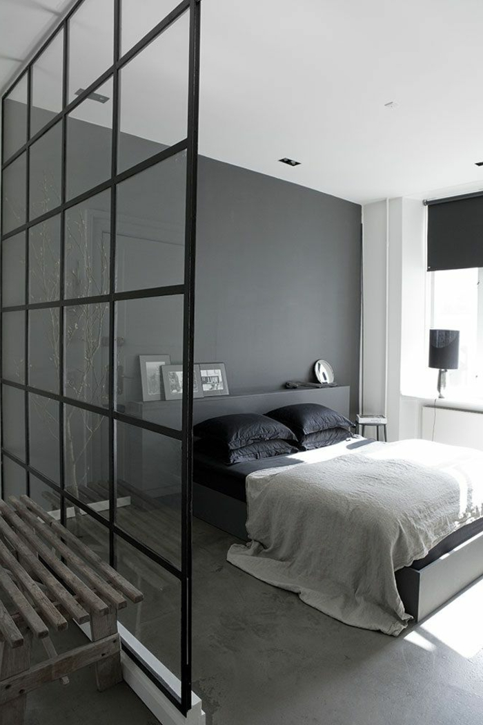 la verri re d int rieur une vraie tendance en 40 images. Black Bedroom Furniture Sets. Home Design Ideas