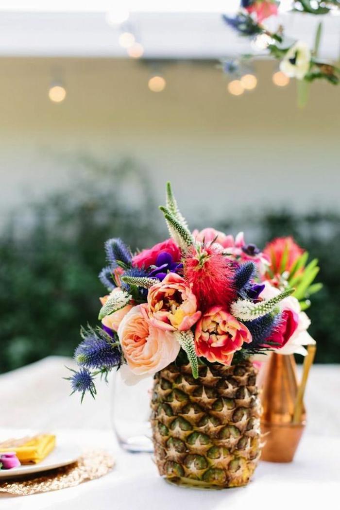 Un gros bouquet de fleurs pour cr er une d coration de table - Fleurs coupees en gros pour particulier ...