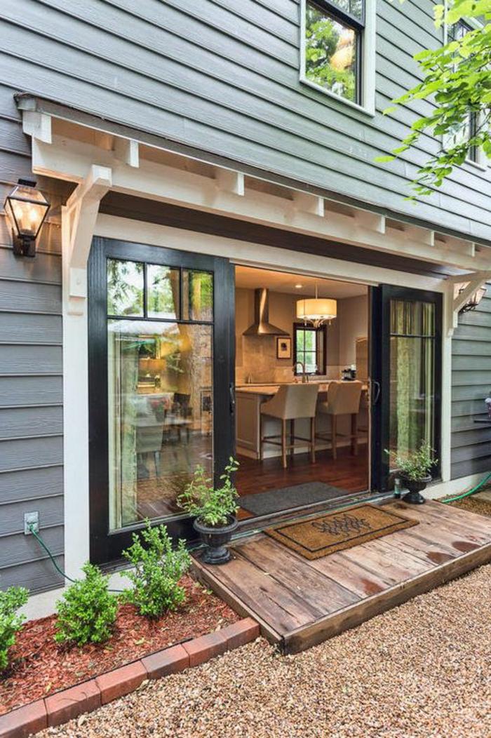 1-jolie-porte-à-galandage-leroy-merlin-pour-porte-coullissante-vers-le-jardin-devant-la-maison