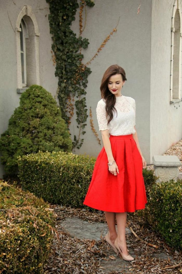 1-jupe-parapluie-rouge-pour-jupe-parapluie-pour-les-filles-modernes-cheveux-marrons