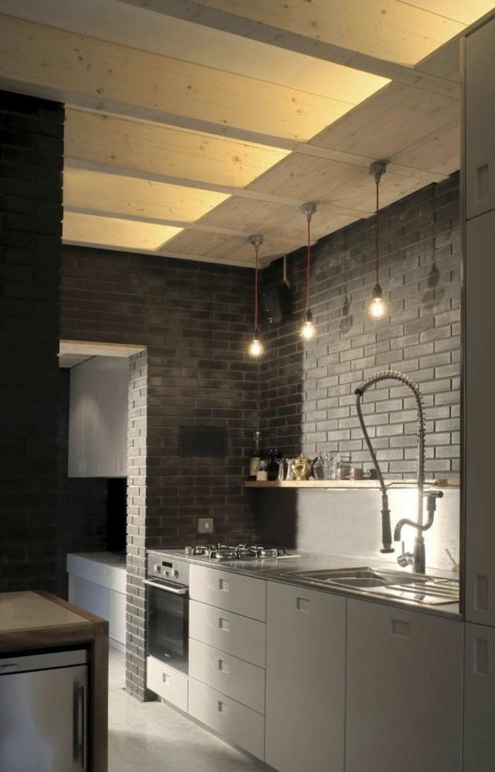 L clairage indirect 52 super id es en photos - Eclairage mural cuisine ...