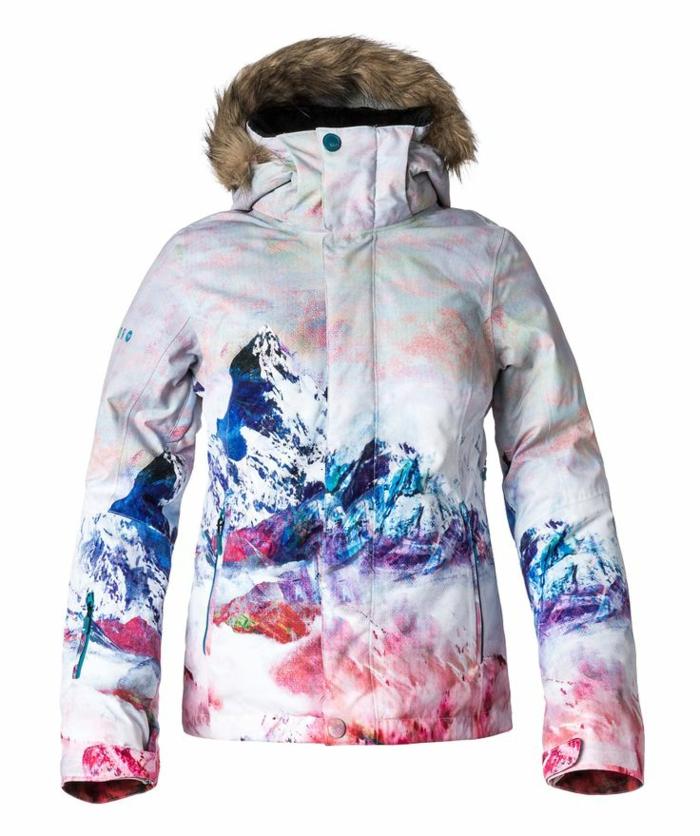 Veste de ski homme colore