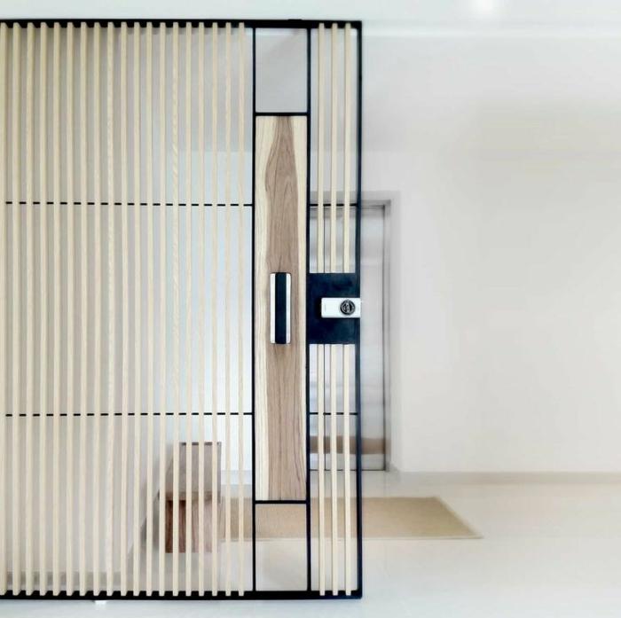 Chambre Avec Salle De Bain Ouverte Et Dressing : portes-à-galandage-jolies-qui-separer-les-chambres-dans-la-maison …