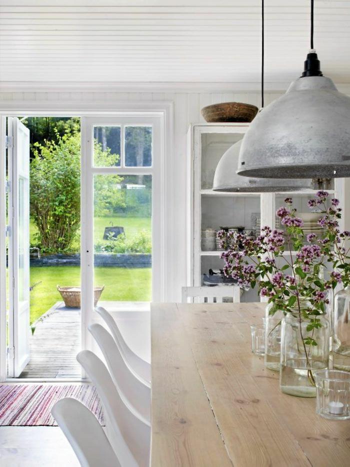 voici la salle a manger contemporaine en 62 photos With salle À manger contemporaine avec table style scandinave pas cher
