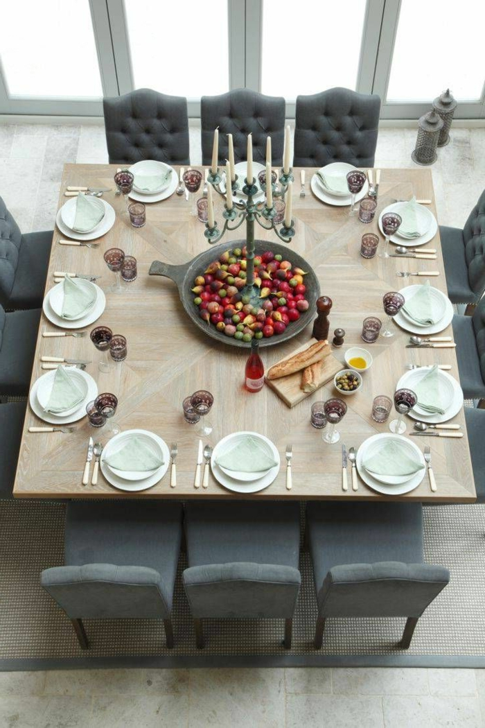 Voici la salle manger contemporaine en 62 photos - Table a manger contemporaine ...