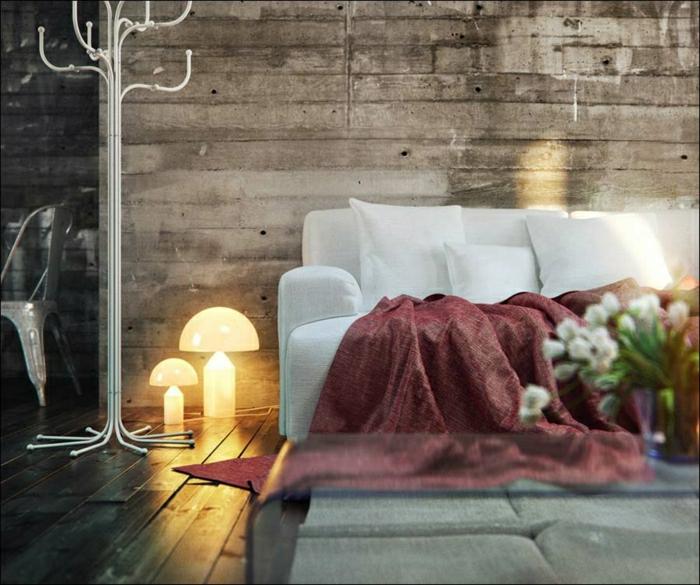 1-salle-de-séjour-canapé-blanc-table-basse-en-verre-vase-fleurs