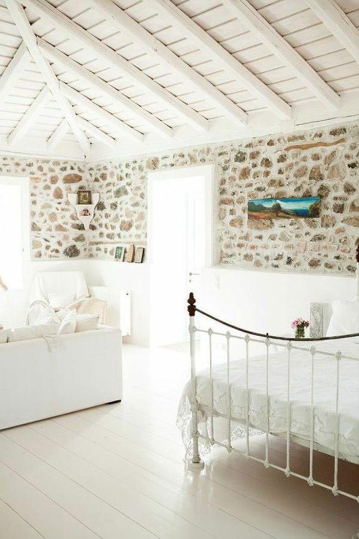 Decoration Pour Salon En Pierre Blanche