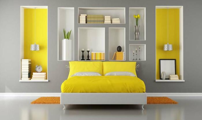 Stunning Chambre Jaune Fluo Contemporary - Design Trends 2017 ...