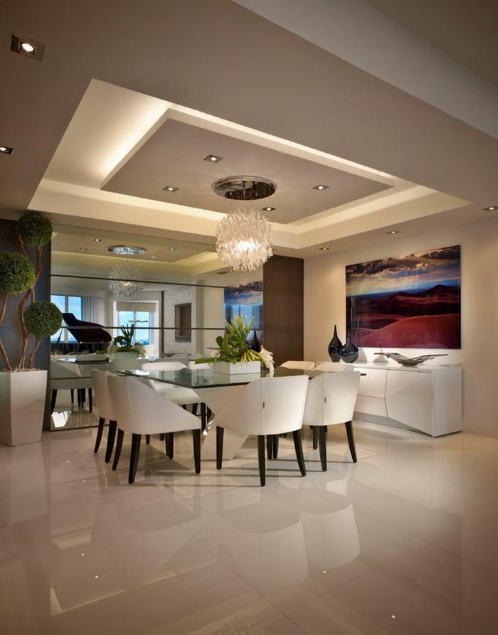 1-table-carrée-salle-à-manger-contemporaine-de-luxe-avec-table-en-verre-et-chaises-blanches