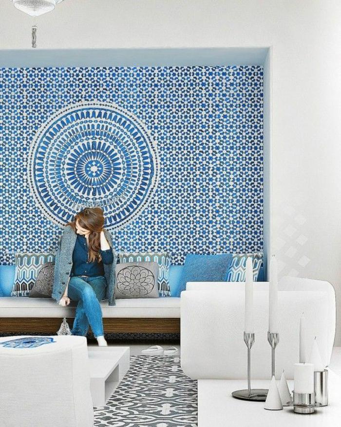 Inspirations comment utiliser votre carrelage mural for Adhesif mural
