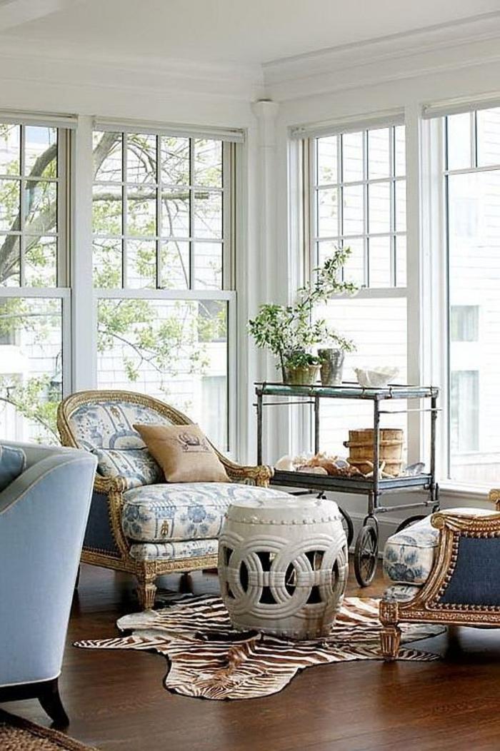 1-veranda-en-kit-castorama-et-sol-en-planchers-en-bois-foncé-tapis-en-peau-d-animal