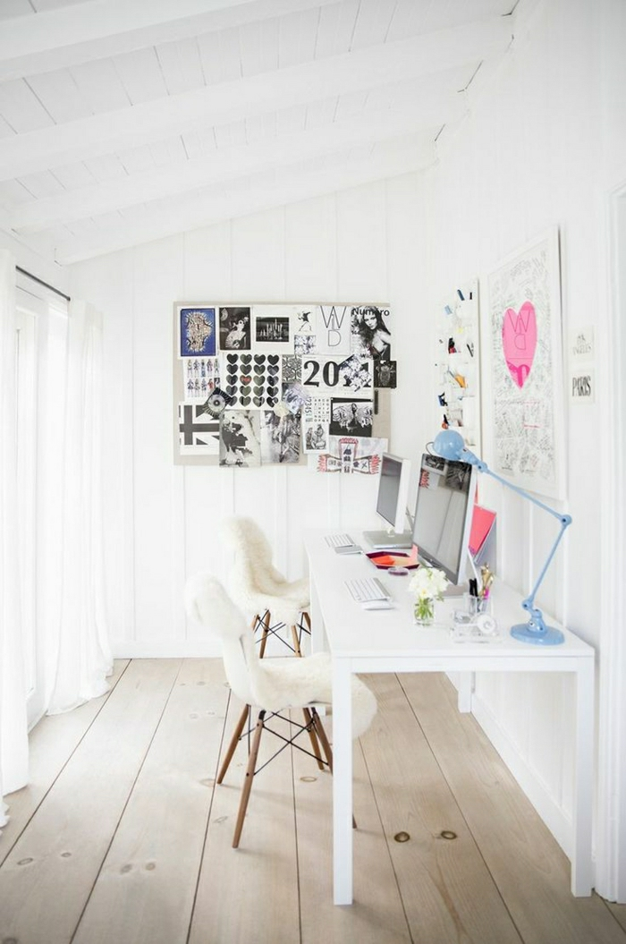 Beaucoup de rangements en photos pour un bureau feng shui for Ideas para despachos en casa