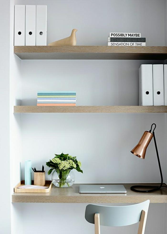 2-bureau-feng-shui-en-bois-clair-fleurs-sur-le-bureau-domicil-comment-créer-le-plus-beau-bureau-feng-shui