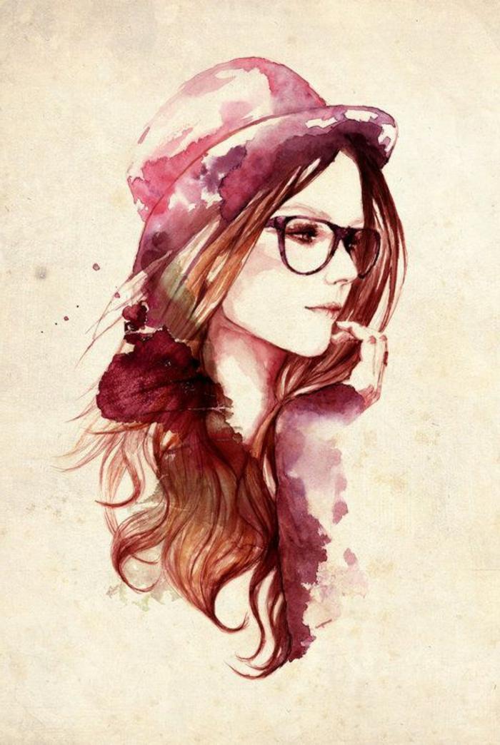 2-hipster-look-avec-lunettes-pour-femme-mode-hipster-femme-dessin-eau