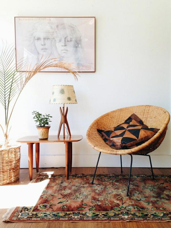 La lampe de salon les derni res tendances en 30 photos - Meuble en rotin design notre collection didees modernes ...