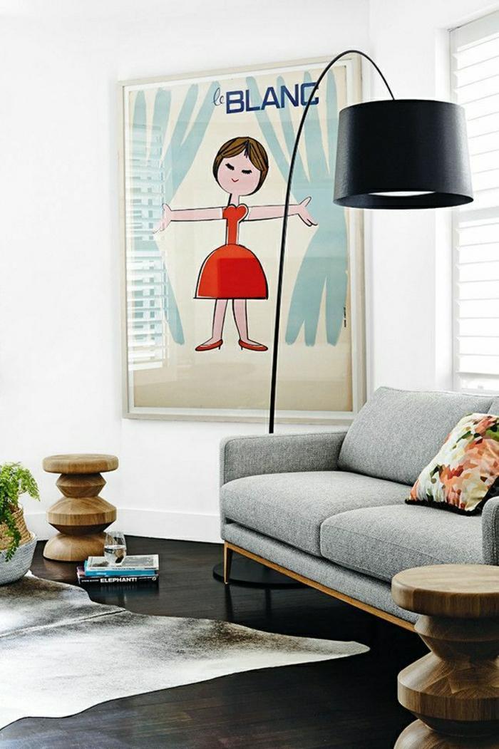 Savourez la beaut de la lampe arc en 50 images for Decoration murale eclairee