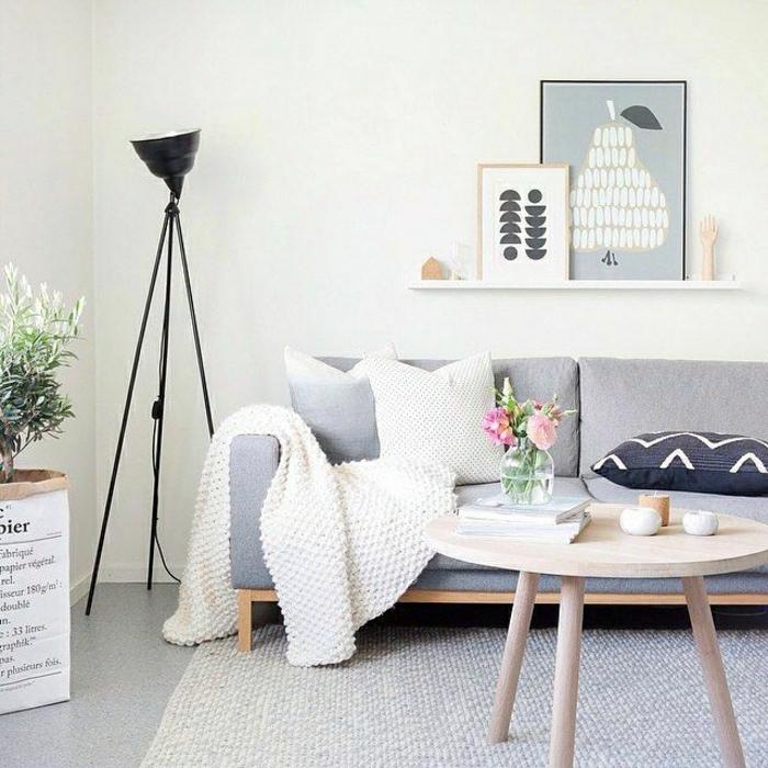 2-lampadaire-conforama-sur-pied-noir-tapis-blanc-et-sol-en-lino-gris-pour-le-canapé-gris