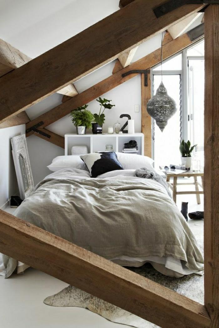 2-poutre-decorative-poutre-chene-dans-la-chambre-à-coucher-meubles-d-interieur