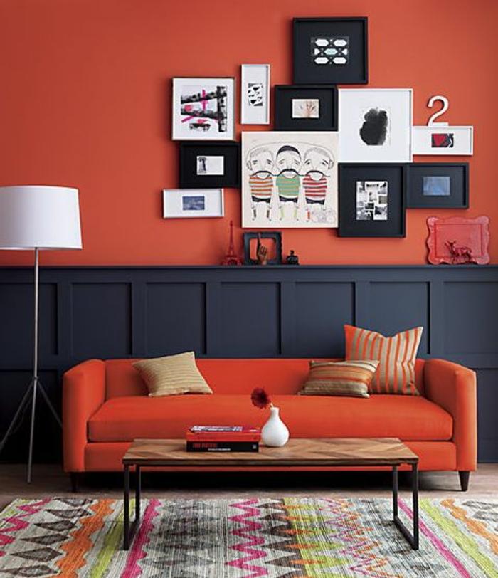 33-symbolique-des-couleurs-murs-rouges-et-tapis-coloré-pour-le-salon-moderne-avec-tapis-moderne