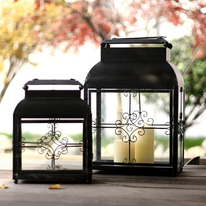 Bougies-décoration-photophore-mariage-vintage-lanterne-en-fer