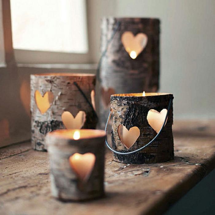Bougies-en-bois-décoration-photophore-mariage