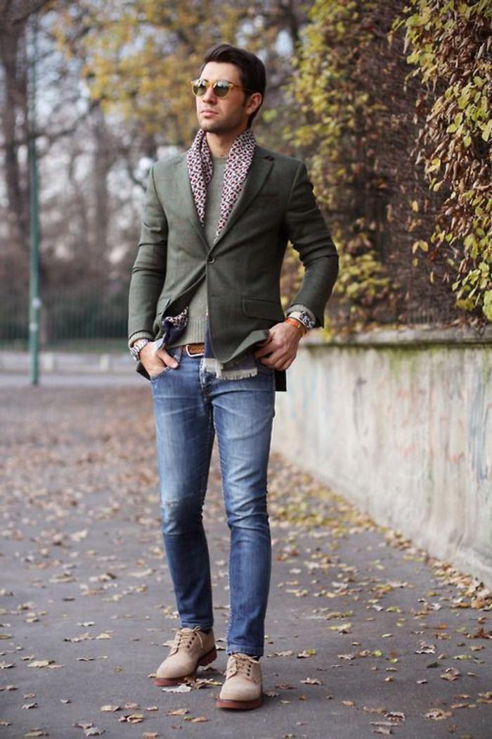 Chic-casuel-bohème-chic-tenue-homme-casual-chic-homme-jean-et-veste